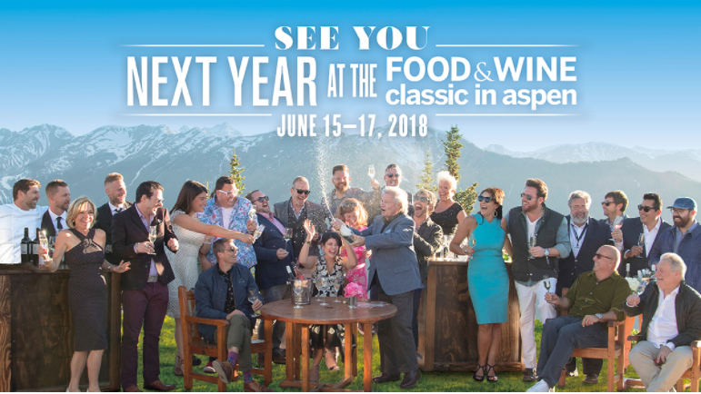 wine article 2018 Food And Wine Classic Aspen Usa