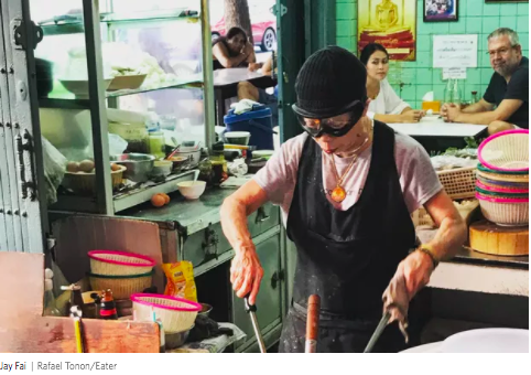 wine article Only Michelinstarred Street Food Vendor In Bangkok Wants To Give Back Star