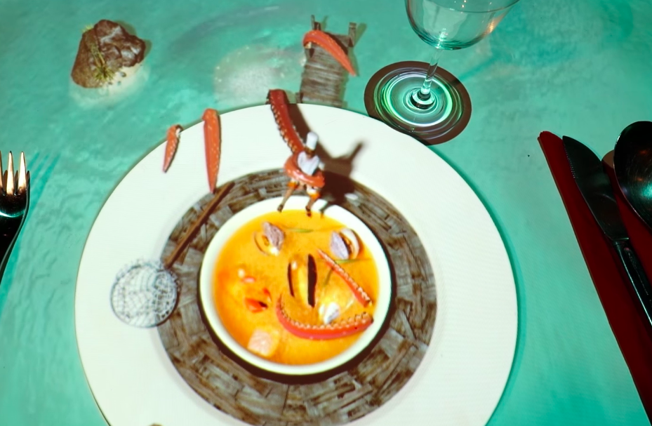 wine article Tiny 3d Chef Cooks You Animated Food In New Uk Dining Concept