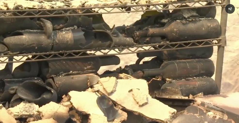 Smoke wildfires damage Californias famed wine country