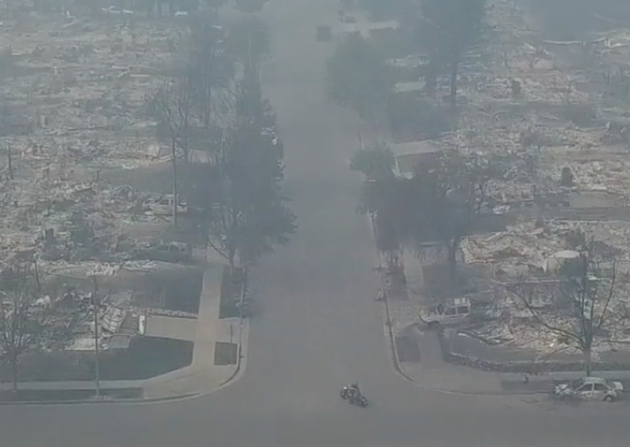 Pure devastation At least 17 dead as firefighters struggle to contain California fires