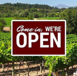 Here are the open wineries in Napa Sonoma and Mendocino counties after Wine Country fires
